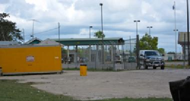 Belize border crossing