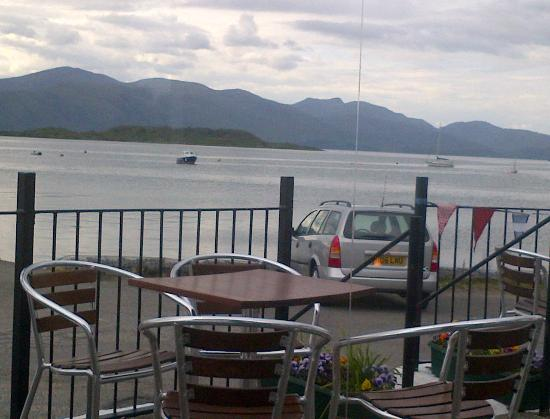 The Pierhouse Hotel: View from our table at The Pierhouse