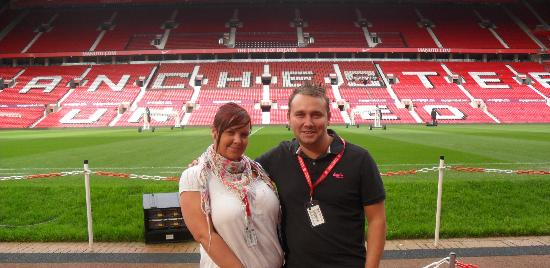 Erin Amp Chris At Old Trafford Picture Of Old Trafford