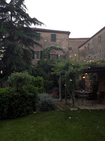Lucignanello Bandini: La mitica pergola di Casa Maria
