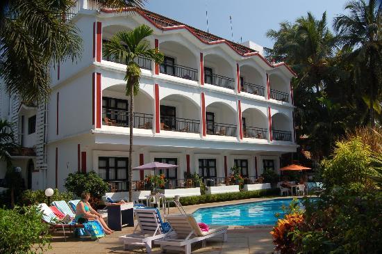 Keys Ronil Resort: Hotel rear