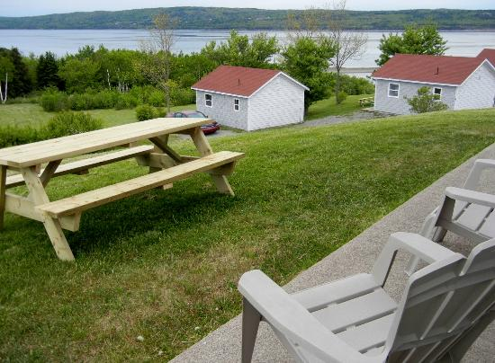 Chisholm's of Troy Coastal Cottages: View from our cottage
