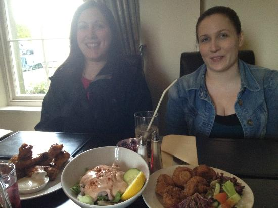 Moloko Restaurant at Dungiven Castle: Before the disappointment