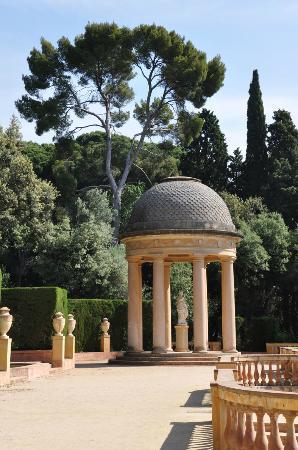 Parque del Laberint d'Horta: romantisch