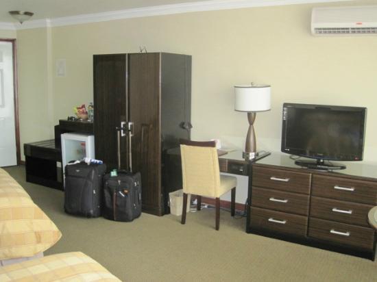 Plaza Paitilla Inn: Vista de la habitación