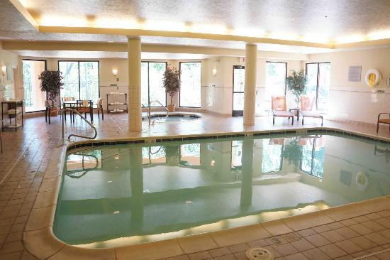 Courtyard by Marriott Traverse City: Pool and Spa Area