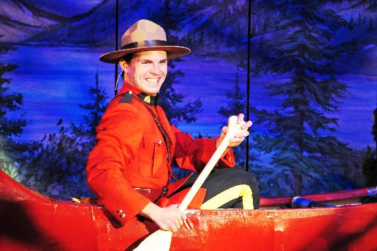Oh Canada Eh? Dinner Show : Ryan Nolin - Mountie 2011