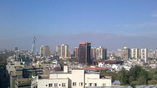 Chileapart.com: vue de la terrasse