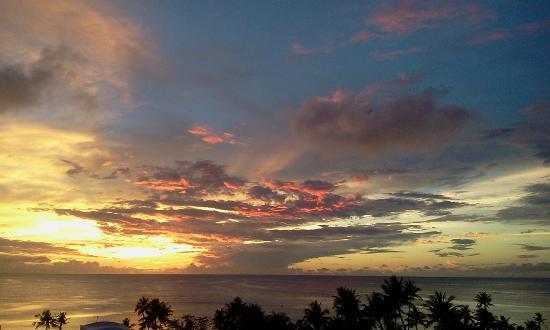 Hyatt Regency Guam: Sunset Guam from  The Hyatt
