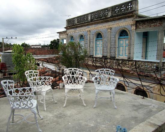 Hostal Haydee y Juan K: New terrace with a great view