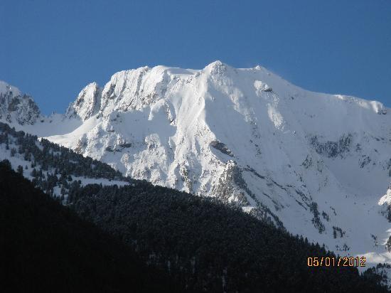 Parador De Vielha : The view from Parador Vielha
