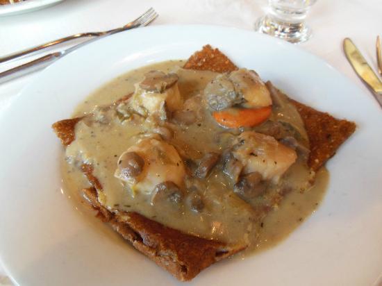 Le carre aux Crepes: scallop buckwheat crepe