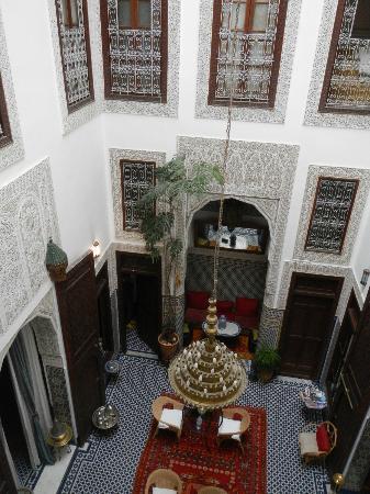 Riad Dar Cordoba: The internal courtyard