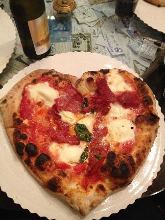 Gustapizza: Heart Shaped Pizza =)