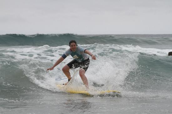 Pacific Surf School: I can't believe this is me!