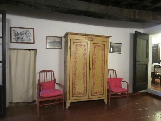 Agriturismo Il Poggio alle Ville: 宿泊した部屋の寝室