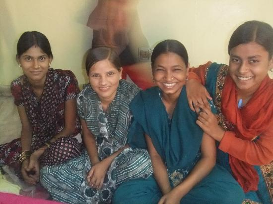 Ladli Vocational Training Center : Happy smiley girls