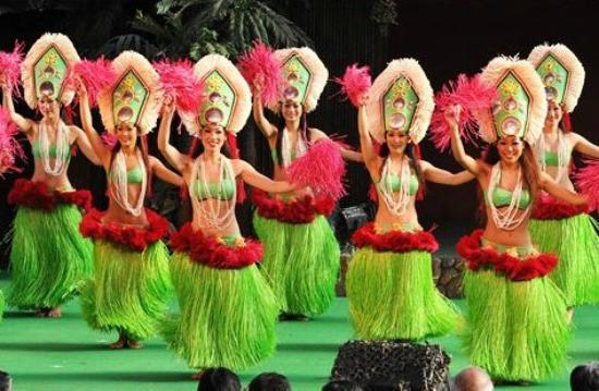 Spa Resort Hawaiians VIR Port : フラガール