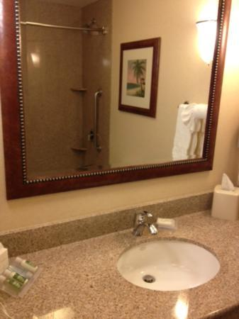 Hilton Garden Inn, Oxnard/Camarillo: Bathroom