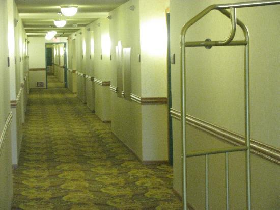 Country Inn & Suites by Radisson, Lincoln North Hotel and Conference Center, NE: View Along the Hallway