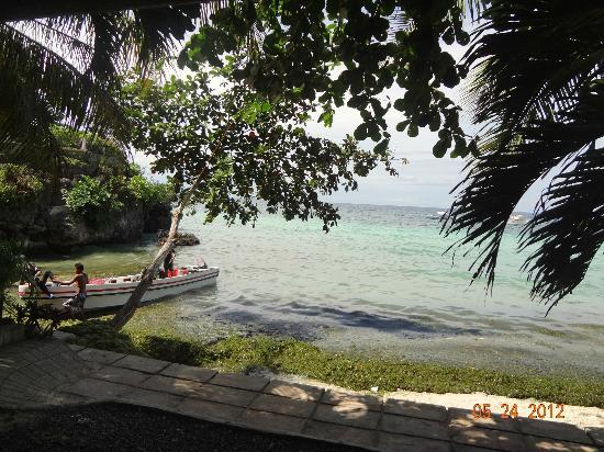 Alona Tropical Beach Resort: beachfront