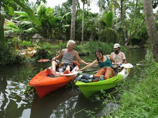Alappuzha, India: Single and Tandem Sit on Top Feel free Kayaks