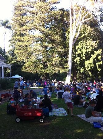 Rancho La Patera & Stow House: music at the ranch