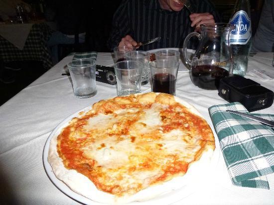 pizzeria il canniccio: Pizza