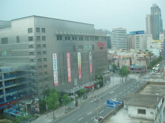 Toyoko Inn Busan Seomyeon: 目印のミリオネがDcityに変わっていました