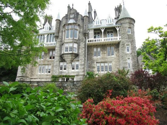 Chateau Rhianfa: The view from the Garden