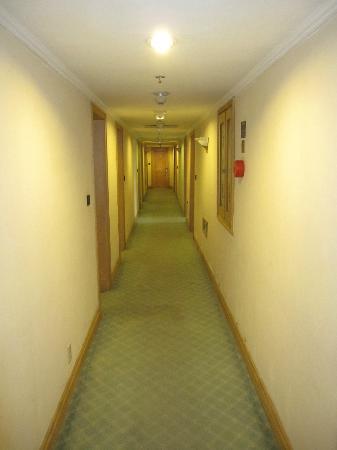 Furama Nanshan Garden Hotel: hotel corridor (smell of smoke)