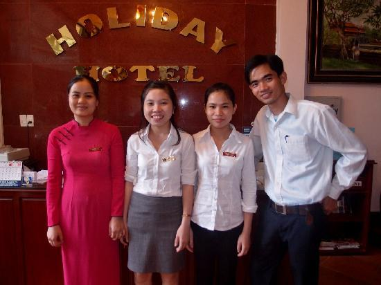 Holiday Diamond Hotel: Wonderful Staff
