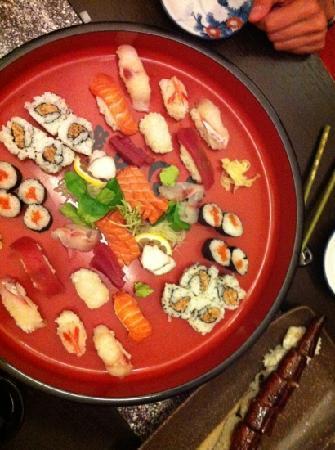 Wasabi: sushi sashimi per 2