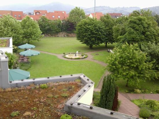 Alleehotel Europa: Gartenanlage