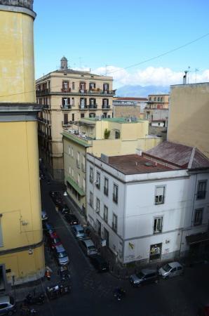 Hotel Palazzo Decumani: Aussicht Zimmer 403