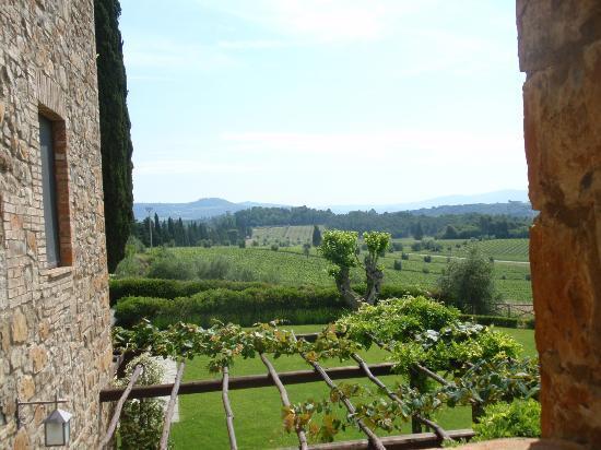 Castello Banfi - Il Borgo: magnifique paysage tout en douceur