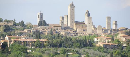 Relais Santa Chiara Hotel: San Gimignano