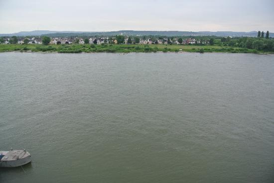 Schloss Engers: Вид из номера