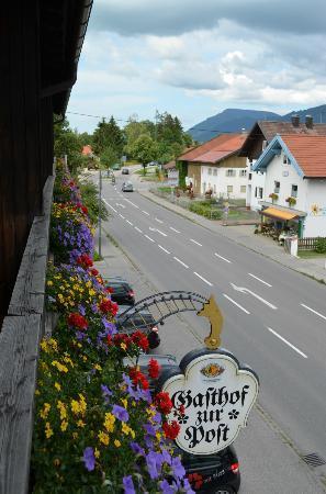Landgasthof Zur Post: view from room