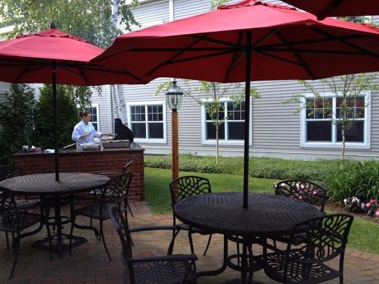 Green Mountain Suites Hotel: Garden