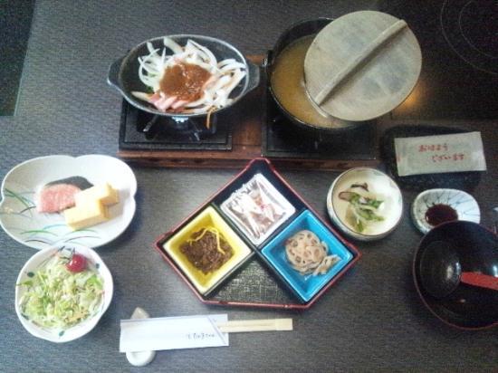 Higaki Hotel: 朝食