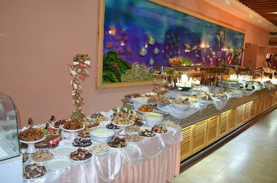 Hotel Paradis Palace: desserts