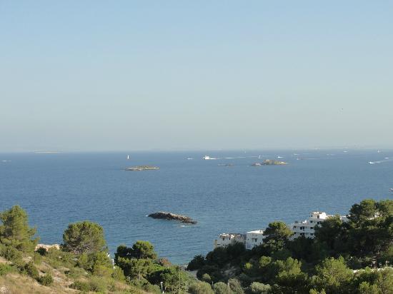 Ibiza Stadt und Burg: View