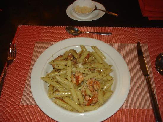 C.U. Restaurant: Con Gamberetti e Pepperoni Pasta
