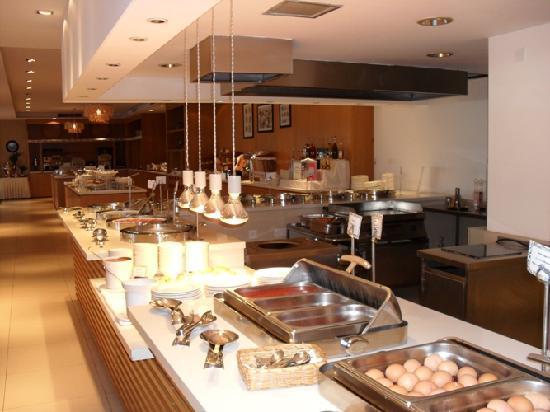 Napa Mermaid Hotel and Suites : Breakfast Buffet