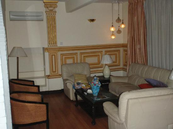 Hotel Shanker: The lounge in the living area