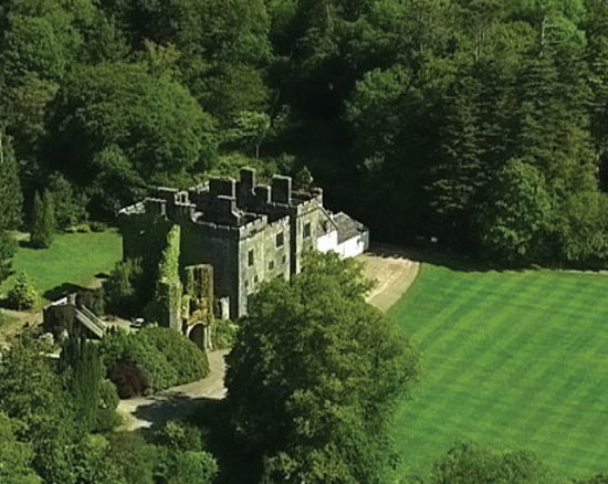 Armadale Castle, Gardens & Museum of the Isles: Aerial View of Castle & Gardens