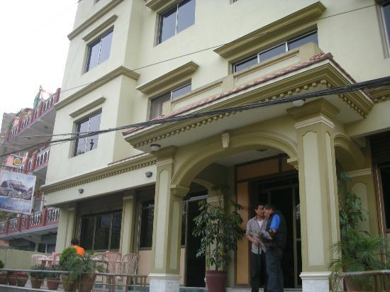 Ti-se Guest House: Hotel front