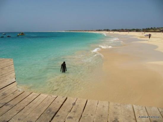Praia de Santa Maria: santa maria beach