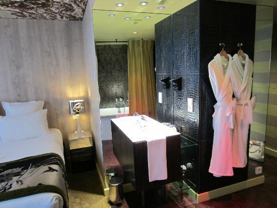 Hotel le Bellechasse: notre chambre